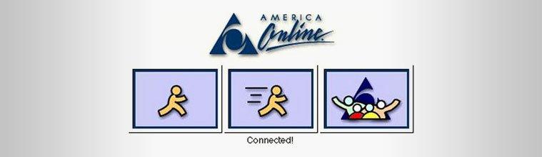 AOL Logo 1990s
