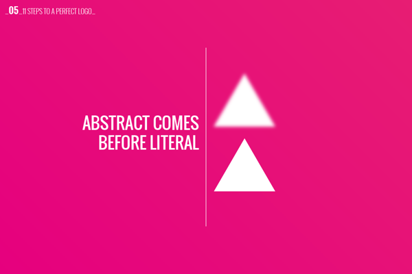 Logo Design Concept - Abstract Before Literal