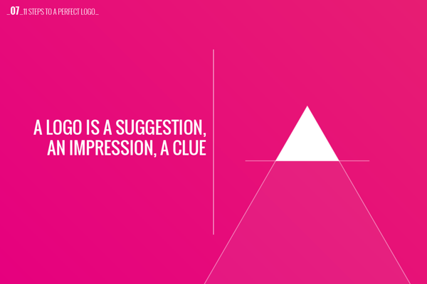 Logo Design Concept - Impression & Clue