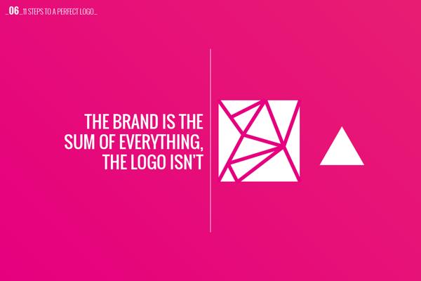 Logo Design Concept - Brand vs. Logo