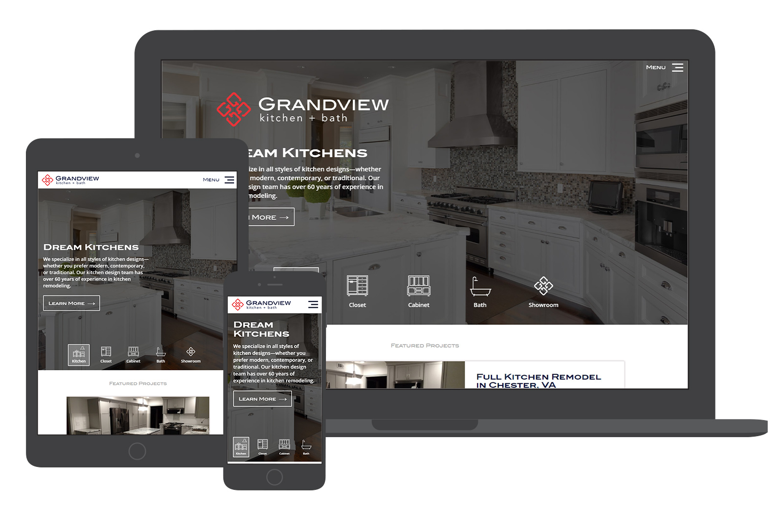 webdesign grandview kitchen