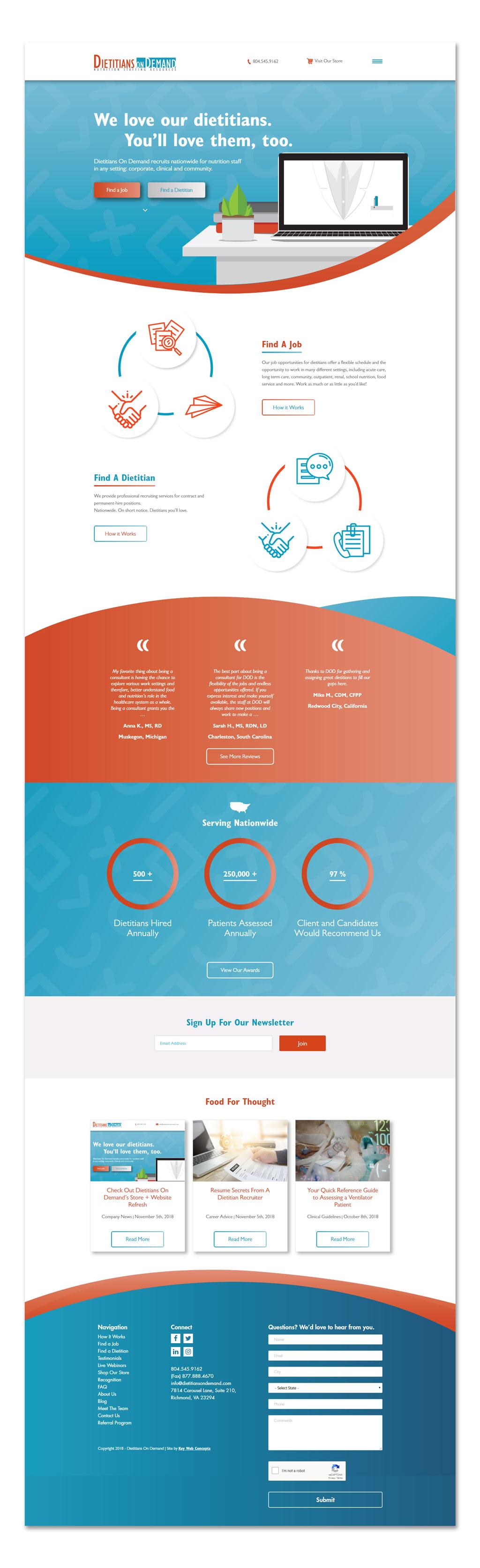 dietitians on demand richmond va key web concepts